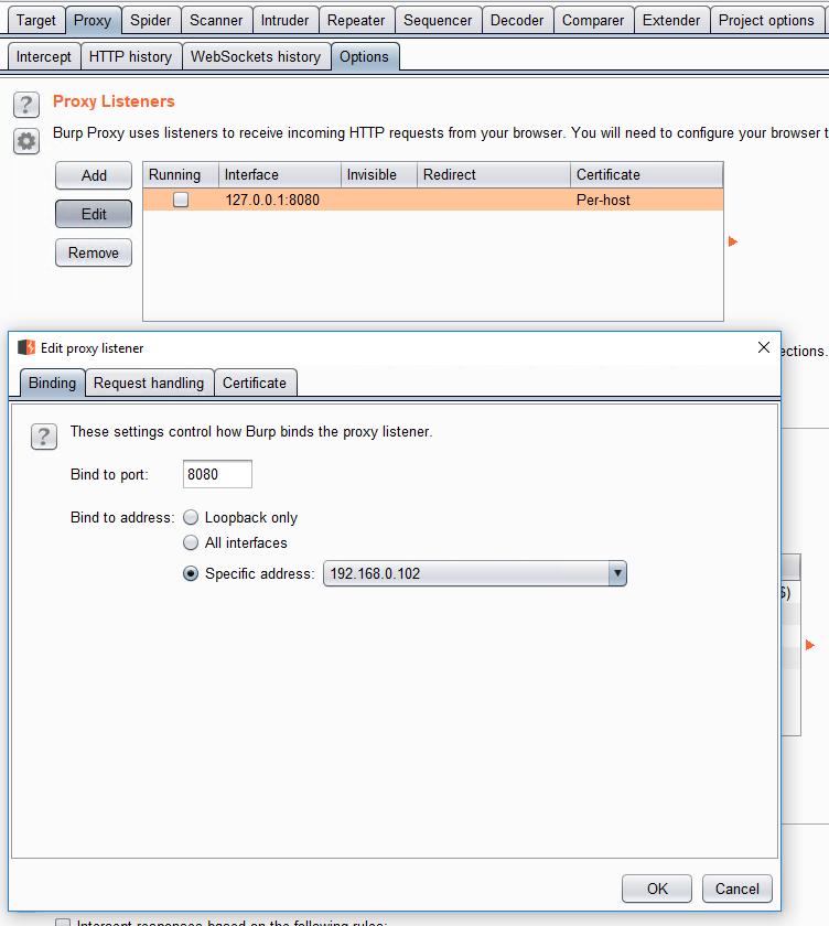install burp certificate android emulator